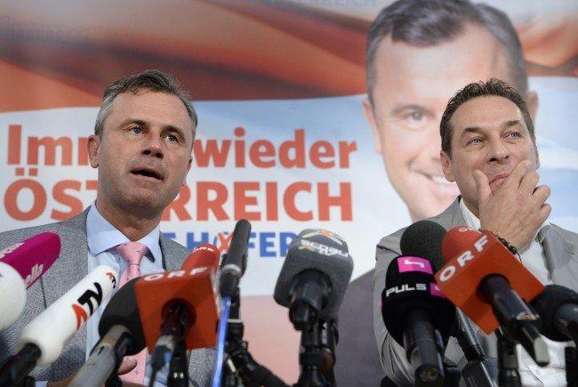 Die FPÖ ist im verbalen Angriffsmodus.