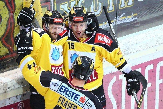 Die Vienna Capitals treffen am 18. August auf Skelleftea AIK.