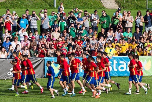 Die Spanier haben sich erneut in Vorarlberg auf ein großes Turnier vorbereitet.