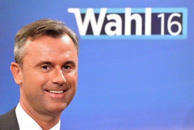 VIENNA.at-User würden Norbert Hofer zum neuen Bundespräsidenten wählen.