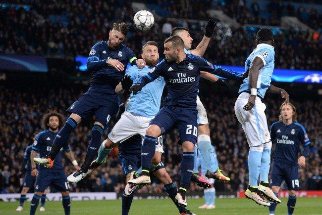Real Madrid hat Mittwochabend Manchester City im Bernabéu-Stadion zu Gast.