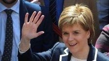 Schottische Nationalisten erringen Sitz-Mehrheit