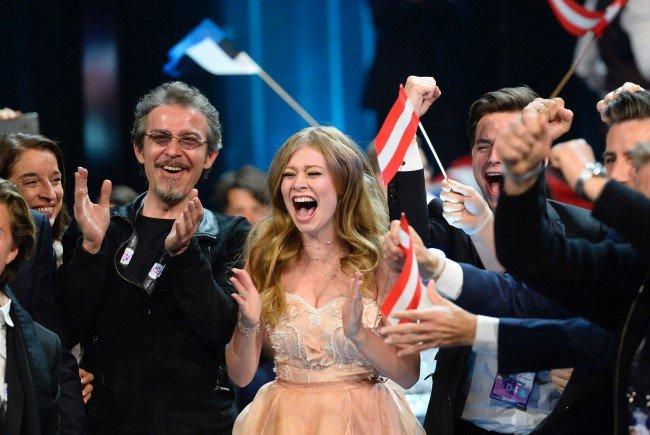 Angst und Freude lagen bei Österreichs Pop-Elfe Zoe am Dienstag nah beieinander.