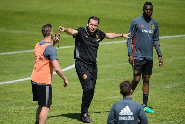 Marc Wilmots, Belgiens teamchef, sieht sein Team in der Außenseiterrolle.