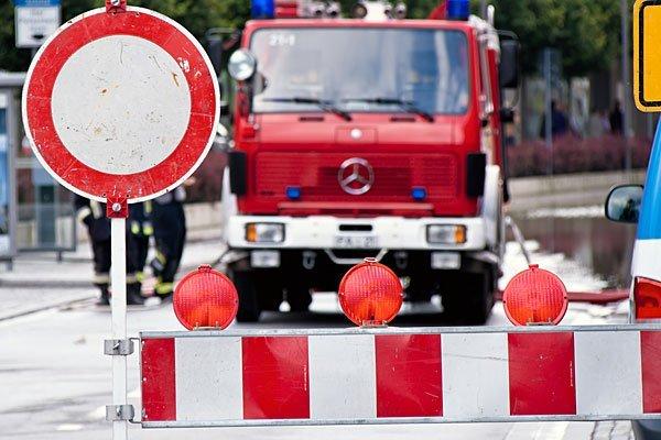 Die Feuerwehr war wegen Unwettern im Dauereinsatz