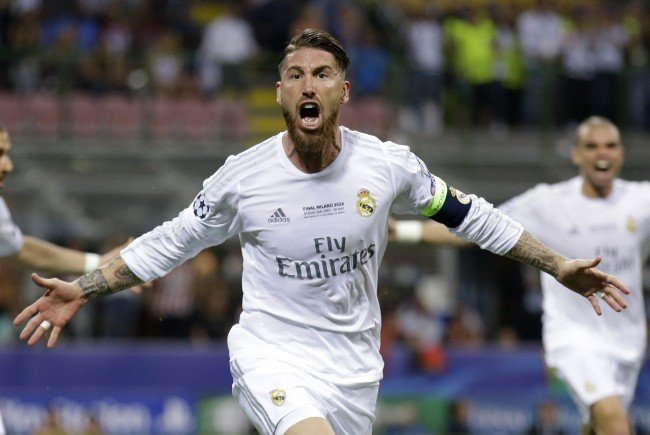 Sergio Ramos brachte Real in Führung.