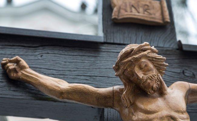 In der Schottenkirche kam es zu einem Fall von Vandalismus