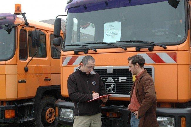 Am 23. und 24. Mai können wieder alte Fahrzeuge der MA 48 erworben werden.