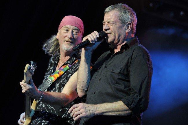 Deep Purple spielen beim Lovely Days Festival in Eisenstadt auf.
