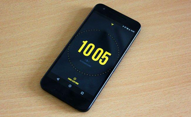 "Dwayne Johnson hat seine App passend passend betitelt: ""The Rock Clock"""