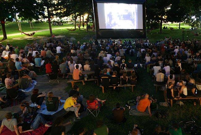 Science Fiction-Filme im Park bieten die Margaretner Filmnächte auch heuer