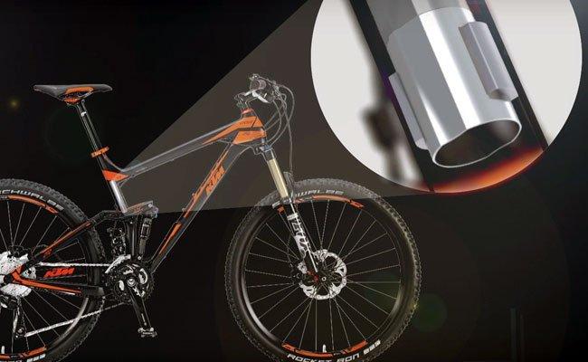 Das Crowdfundingprojekt bietet eine Diebstahlsicherung für Fahrräder