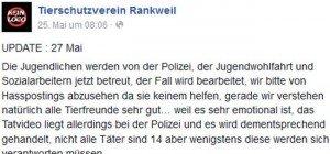 Feldkirch: Katze mit Baseballschläger erschlagen