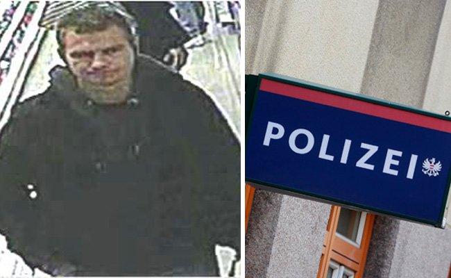 Die Polizei sucht nach diesem Verdächtigen.