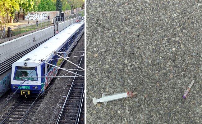 Die Überwachungsbilder aus dem Zug sollen nun ausgewertet werden.