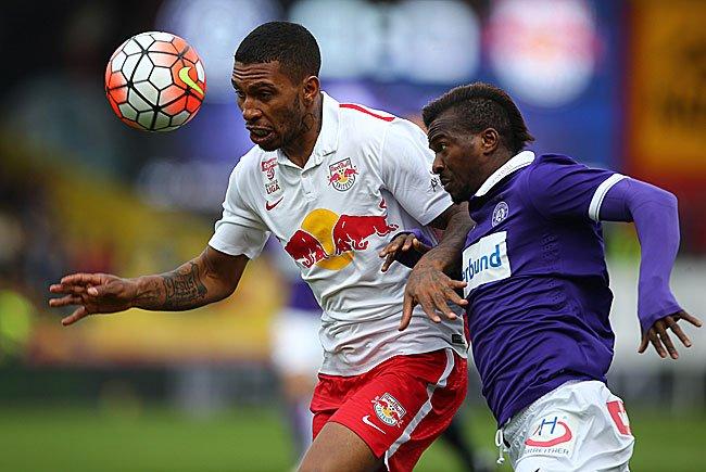 Beim Bundesliga-Spiel Austria Wien gegen Red Bull Salzburg