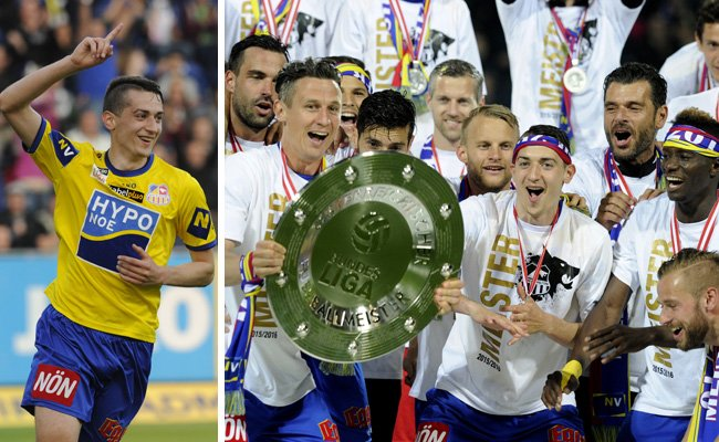 Aufsteiger SKN St. Pölten schloss die Erste-Liga-Saison mit einem 3:0-Heimsieg gegen den FAC ab.