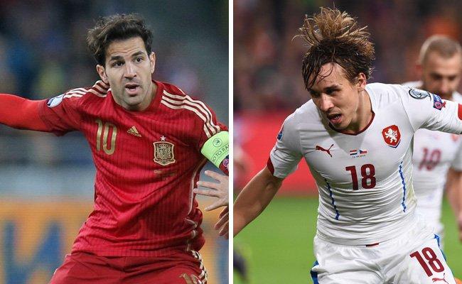 Spanien trifft in Runde eins der EM-Gruppe D auf Tschechien.