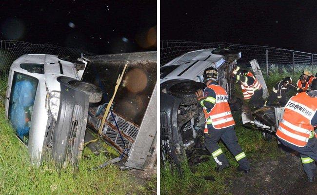 Der Unfall ereignete sich auf der A1 Höhe Melk.