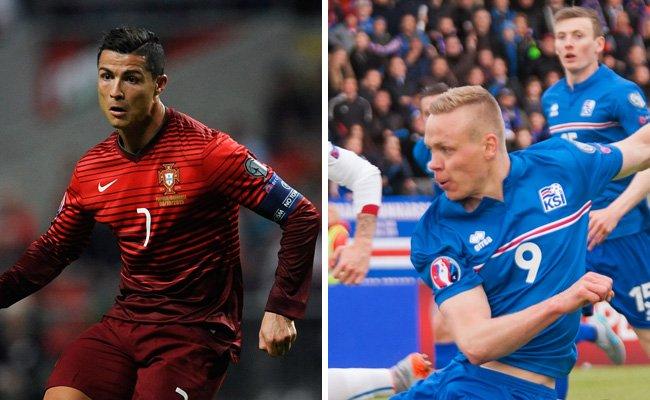 Portugal trifft in Runde eins der EM-Gruppe F auf Island.