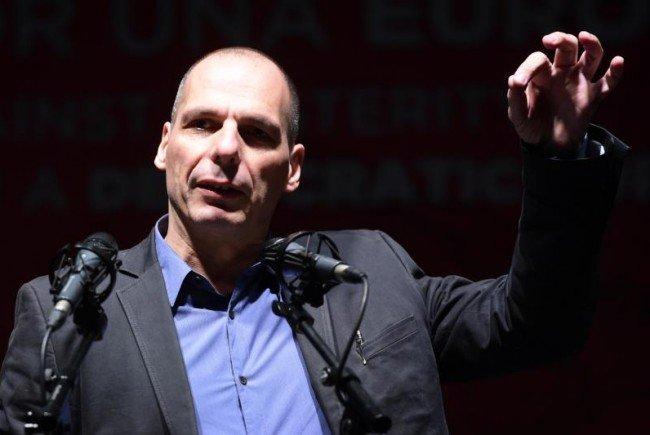 Yanis Varoufakis in Wien.
