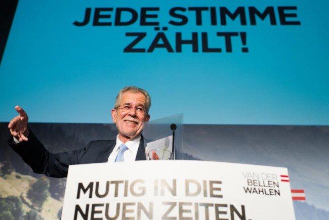 Zwei Drittel der Griss-Wähler wanderten zu Alexander Van der Bellen.