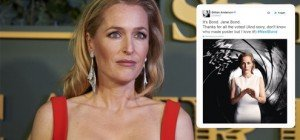 """""""Akte X-""""Star Gillian Anderson: Wird """"Scully"""" die neue """"Jane Bond""""?"""