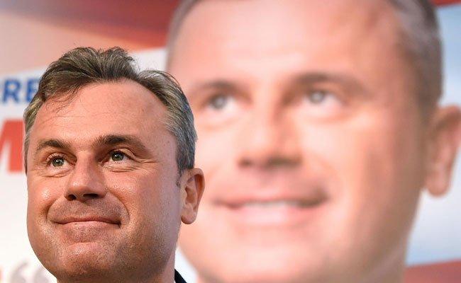 Norbert Hofer ist laut Wettquoten der Favorit der Präsidentschaftswahl.