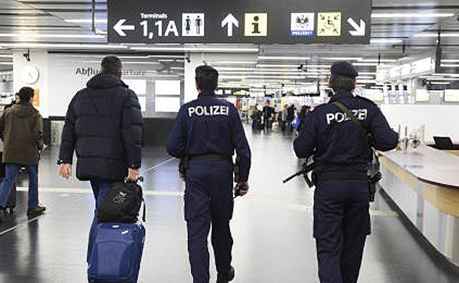 Die Polizei erwischte Bodypacker am Wiener Flughafen