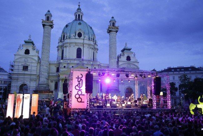 Das Popfest bringt wieder die Musik auf den Karlsplatz.