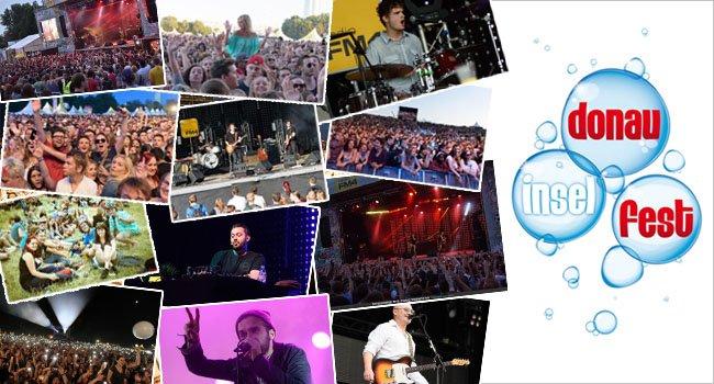Alle Bands auf eine Blick: Das Programm zum Donauinselfest 2016.