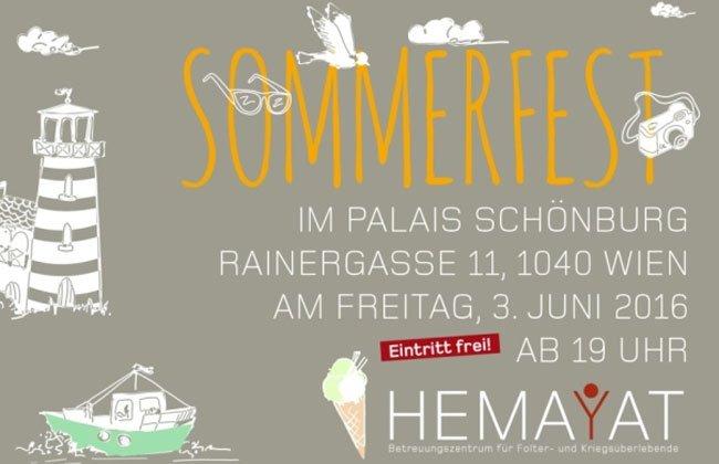 Das Sommerfest bietet auch eine besondere Promi-Auktion.