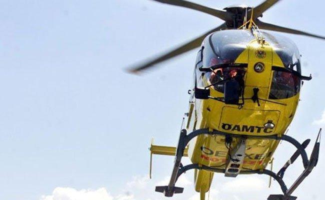 Die Verletzten wurden in Spitäler geflogen.