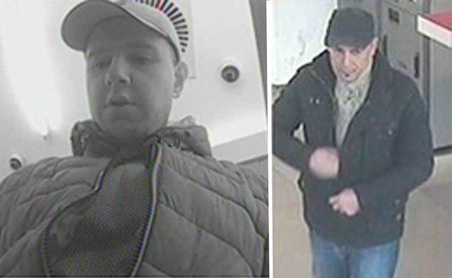 Geldautomatenmanipulation: Fotos der Tatverdächtigen.