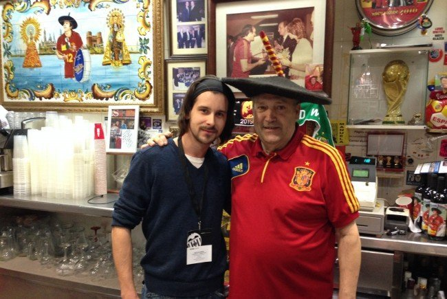 VIENNA.at-Sportredakteur traf Manolo vergangenen Februar in Valencia.