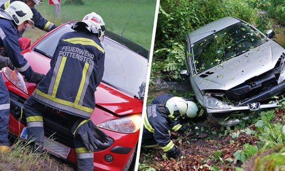 Die Feuerwehren im Bezirk Baden hatten am Montag einiges an Arbeit.