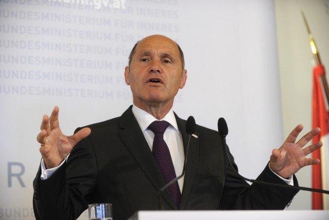 Innenminister Wolfgang Sobotka (ÖVP).