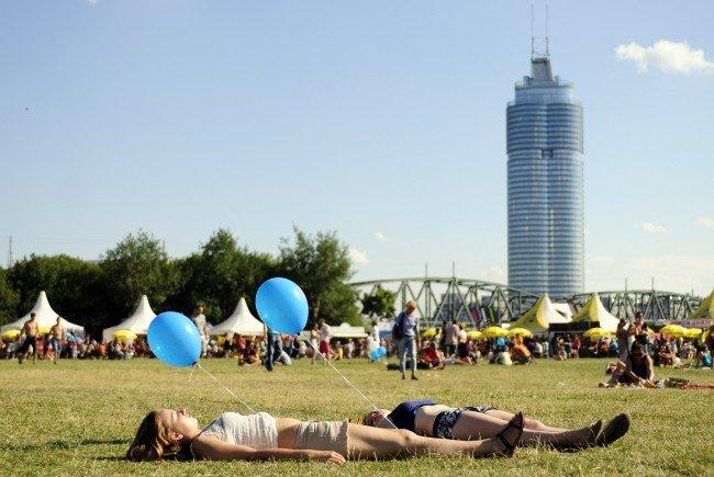So wird das Wetter am Donauinselfest-Wochenende in Wien.