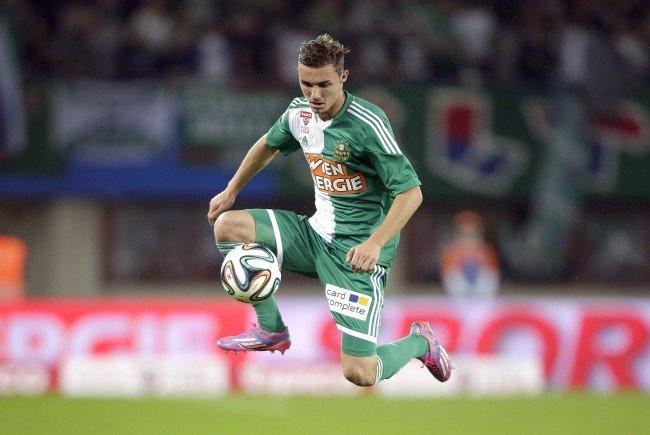 Mario Pavelić hat bei Rapid vorzeitig bis 2018 unterschrieben.