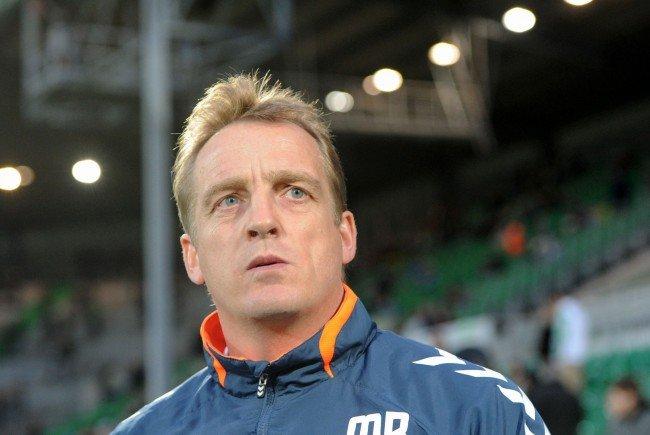 Mike Büskens wird am Donnerstag als neuer Rapid-Trainer vorgestellt.