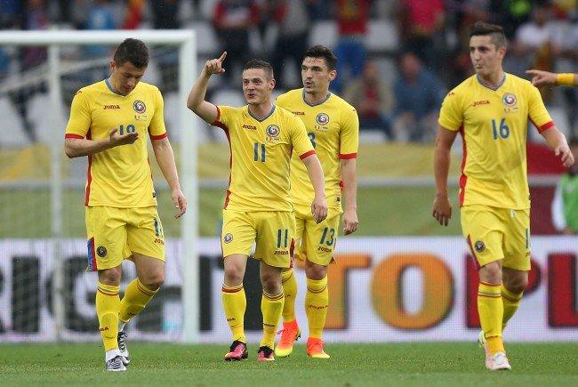 Rumäniens Team ist bereits in Frankreich angekommen.