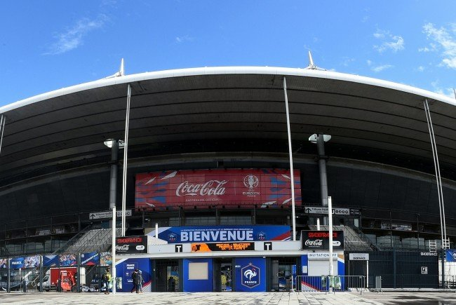 Das Stade de France in Saint-Denis, nördlich von Paris.