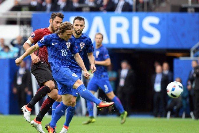 Tschechien trifft in Runde zwei der EM-Gruppe D auf Kroatien.