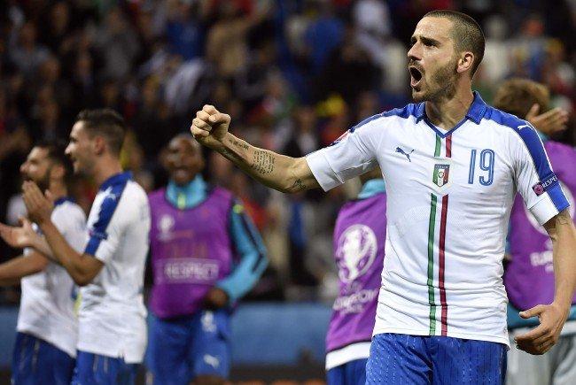 Italien trifft in Runde drei der EM-Gruppe E auf Irland.