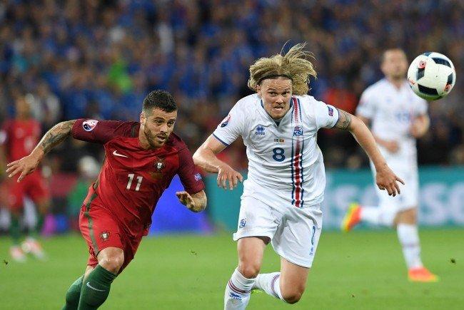 Island holt zum EM-Auftakt einen Punkt gegen Portugal.