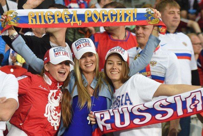 Die Sicherheitsstufe beim Spiel Russland gegen Wales wurde erhöht.