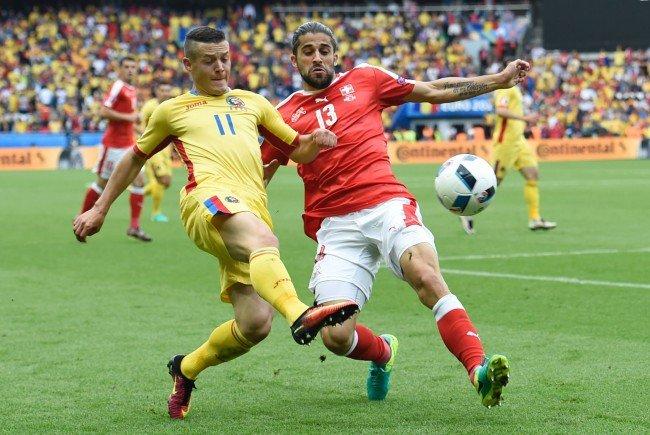 Rumänien und die Schweiz trennten sich 1:1.