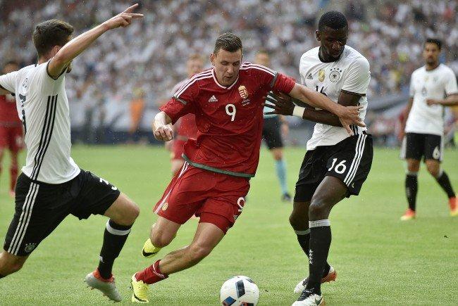 Deutschland besiegte Ungarn im Testspiel mit 2:0
