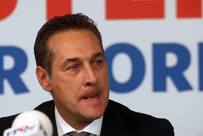 Bundesparteiobmann Heinz Christian Strache wird bei einem Pressetermin über eine mögliche Wahl-Anfechtung sprechen