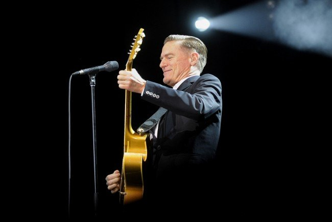 Bryan Adams beim Konzert in der Wiener Stadthalle.
